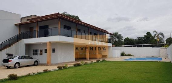 Chácara Com 4 Dormitórios À Venda, 873 M² Por R$ 1.300.000 - Parque Da Represa - Paulínia/sp - Ch0118