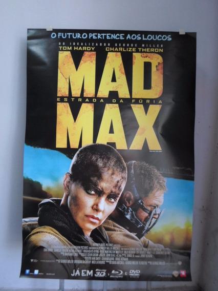 Poster Mad Max - Estrada Da Furia - 64 X 94