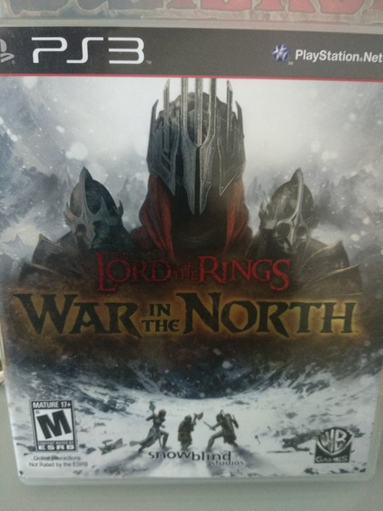 Lord Of The Rings War In The North Ps3- Flame On! Nerd Store