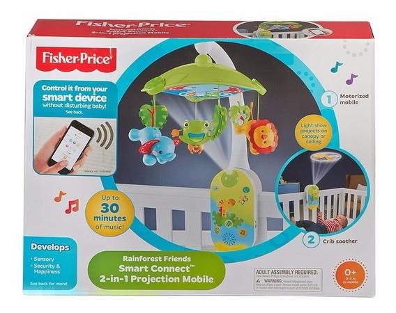Móvil Proyector 2 En 1 Smart Connect Fisher Price Cmk04