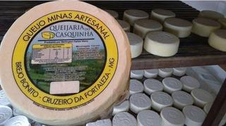 Queijo Artesanal Minas - Serra Do Salitre #top Queijo Fresco