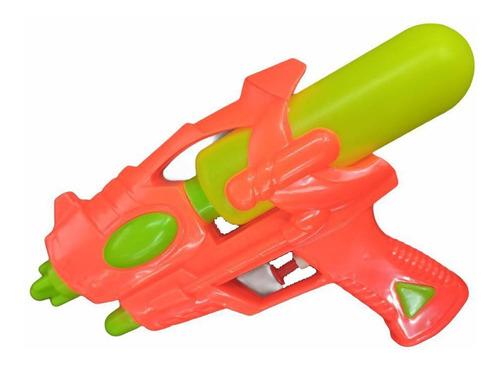 Pistola Lanza Agua Chica Verano Juego Infantil Plastica