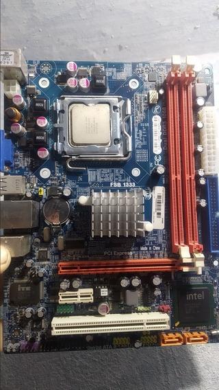Placa 775 G41t M7 Ddr3 Com Processador Pentium E5500