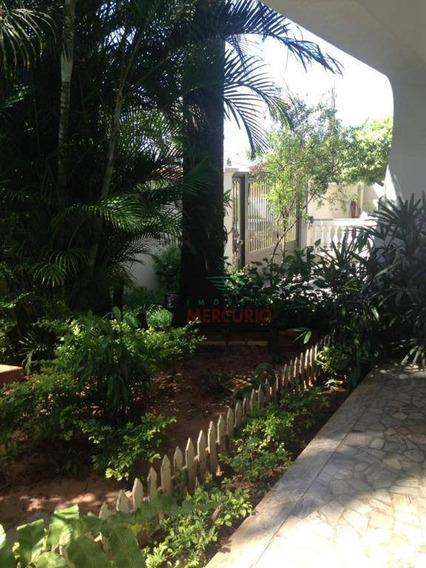 Casa Com 4 Dormitórios À Venda, 348 M² Por R$ 1.300.000,00 - Jardim América - Bauru/sp - Ca3297