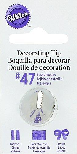 Punta Decorativa Wilton, No.47 Basketweave