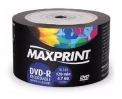 100 Dvd Maxprint 4,7 Gb Printable