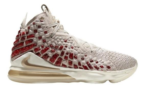 Nike Lebron 17 Desert Sand/gold Importación Mariscal