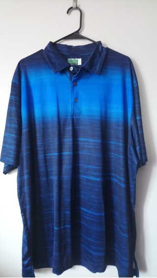 Playera Polo Ben Hogan Color Azul 2xl De Hombre
