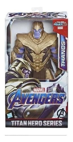 Imagem 1 de 2 de Thanos Titan Hero Series Power Fx Marvel Avengers Hasbro