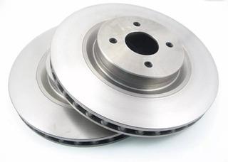 Pack 2 Discos De Freno Trasero. Mahindra Xuv-500 D894 294mm