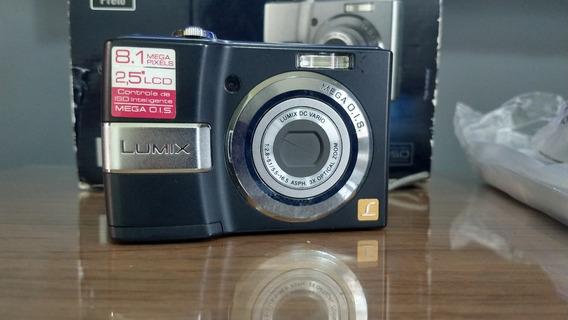 Câmera Digital Panasonic Lumix Dmc-ls80 Na Caixa Fret Gratis