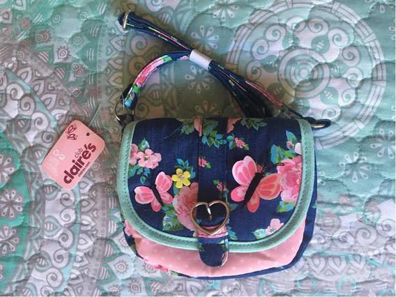 Bolsa De Mariposas Y Flores Claires
