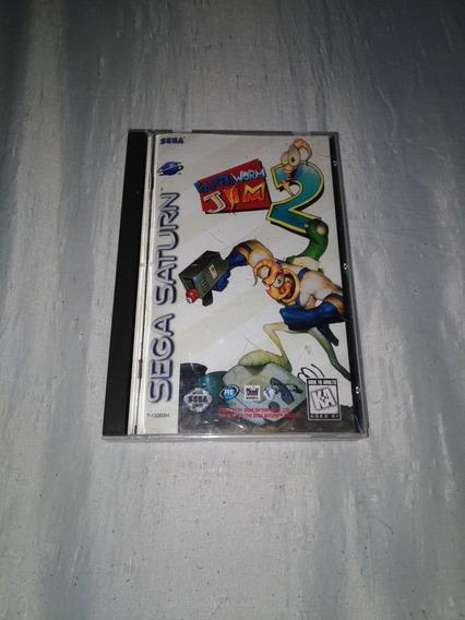 Earthworm Jim 2 Sega Saturno Americano Leia O Anúncio