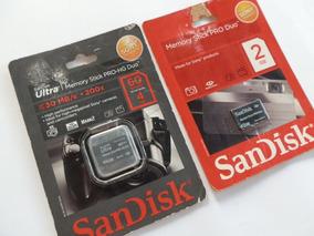 Memory Stick Pro-hg Duo 4gb + Brinde Stick Pro Duo 2gb