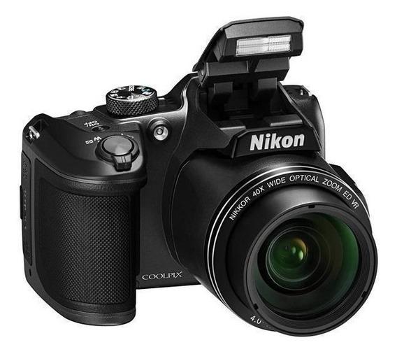 Camera Nikon B500 16.1-40x Fullhd Wifi Tela 3.0 + Nf-e
