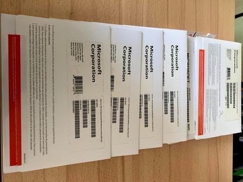 Licencia Original Win7 Pro 64bits Esp Oem Cd + Calcomania 30