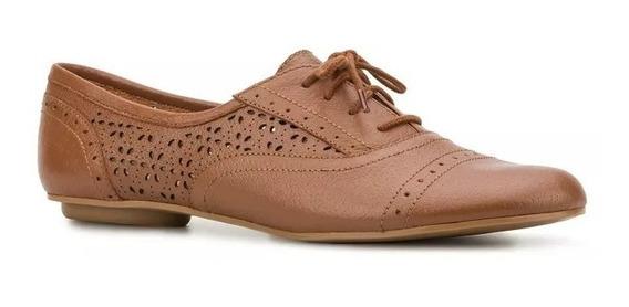 Diseño Folk Piel Zapato Dama Flat Flores Etnico Cafe 2398563