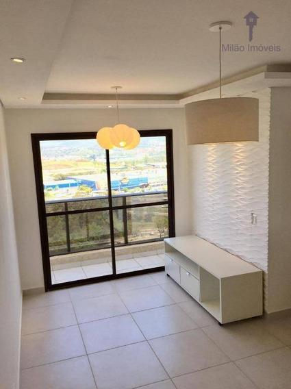 Apartamento 2 Dormitórios Para Locação, 52m², Residencial Paris, Jd. Santa Fé Em Sorocaba/sp - Ap1045