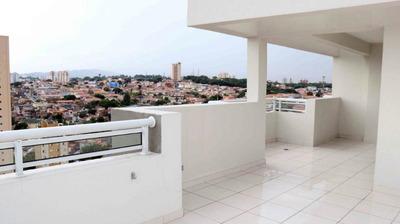 Cobertura Com 2 Dormitórios À Venda, 113 M² Por R$ 679.000 - Vila Mangalot - São Paulo/sp - Co0231