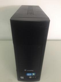 Pc Itautec Infoway Core I3 4gb Hd500 Win7 + Teclado E Mouse!