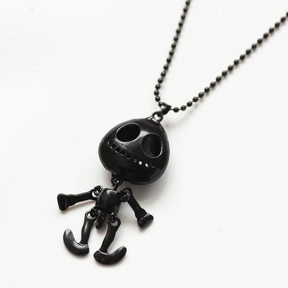 Collar Calavera Dark Punk Gótico Skull