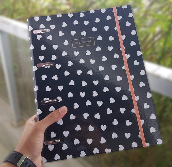 Caderno Fichário Argolado West Village Tilibra - Promoção