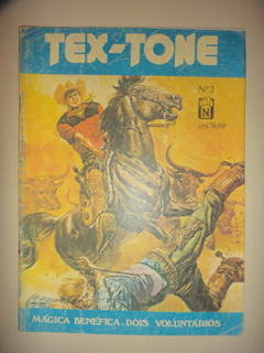 Tex Tone 2 Editora Noblet 1979 Raridade
