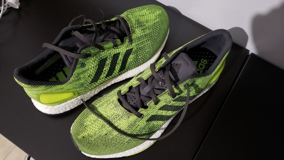 adidas Pureboost Dpr Lime Green / Black