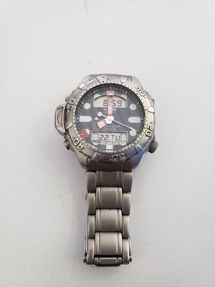 Relógio Citizen Aqualand C500 Full Titanium