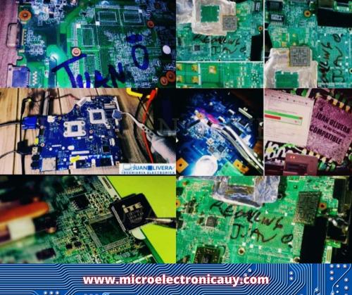 Reparación Pc Notebooks, Motherboard Placa Madre Electrónica
