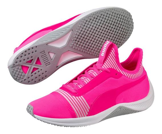 Tênis Puma Amp Xt Feminino - Pink E Branco - Original