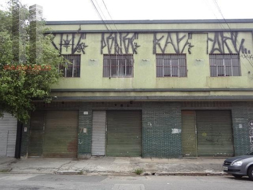 Salão Comercial À Venda, Mooca, São Paulo. - Sl0181