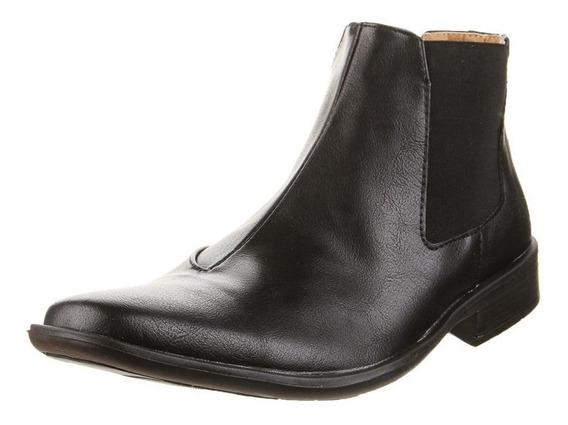 Zapato Bota Negro Cuero G4 Hombre Cuero ¡ Oferta !