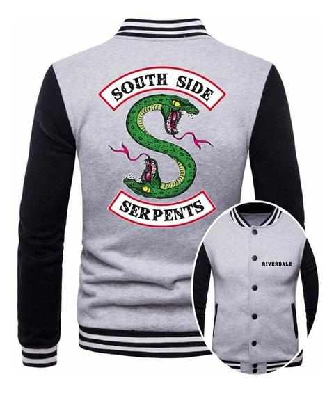Jaqueta College Mascul Série Riverdale Southside Serpents