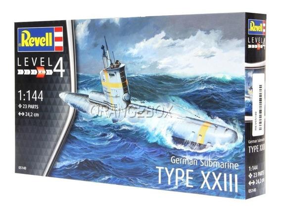 Kit Para Montar Submarino German Submarine Type Revell 1:144