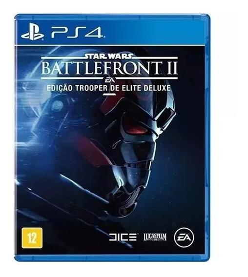 Jogo Battlefront Ii Ed. Trooper De Elite Deluxe Ps4