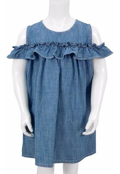 Vestido Innermotion De Mezclilla Para Niñas Estilo 7147