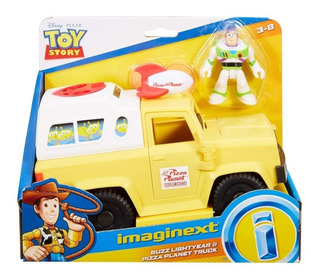 Carro Pizza Planeta Buzz Lightyear Toy Story 4 Imaginext