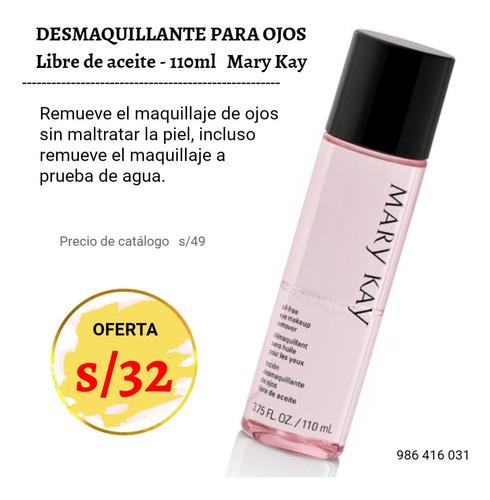 Liquidación Desmaquillante Para Ojos Mary Kay 110ml