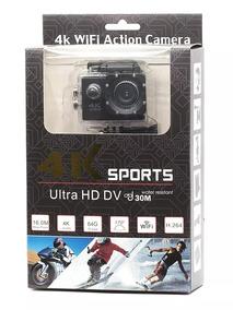 Câmera Go Pro 4k Ultra Hd Sport Wi-fi Prova D