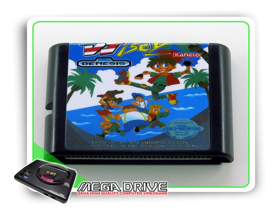 Dj Boy Sega Mega Drive / Genesis - Novo
