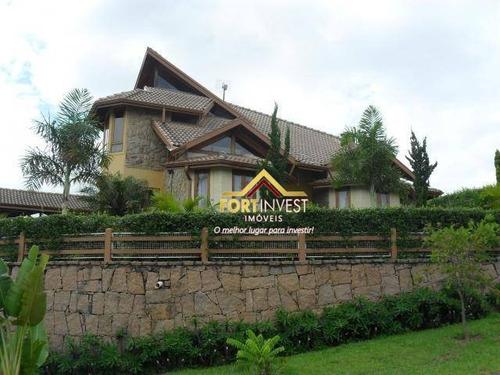 Chácara Com 3 Dormitórios À Venda, 1200 M² Por R$ 1.300.000,00 - Condomínio Horizonte Azul I - Itupeva/sp - Ch0002