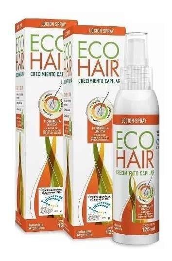 Eco Hair 2 Lociones Capilares Anticaida X125ml