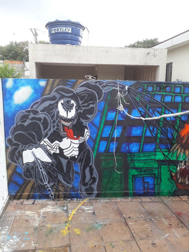 Imagem 1 de 5 de Trabalho Com Graffite!