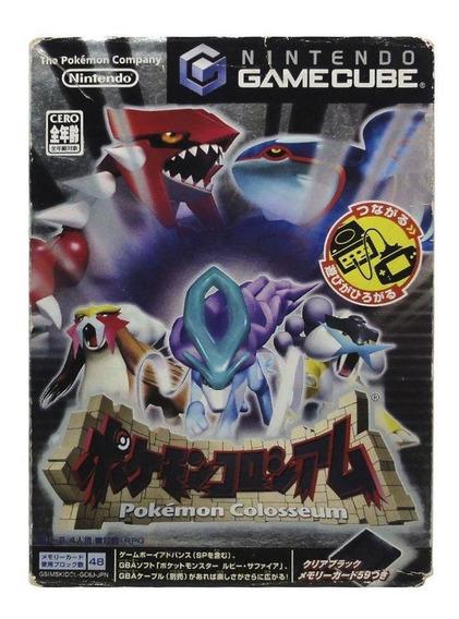 Pokemon Colosseum Gamecube Japonês Mídia Física