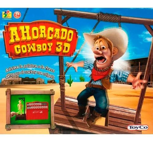 Juego De Mesa Ahorcado Cowboy 3d 15011 (3527) E. Full