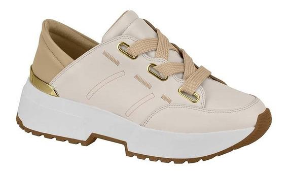 Tênis Feminino Vizzano Chunky Sneaker Creme Rosa 1308103