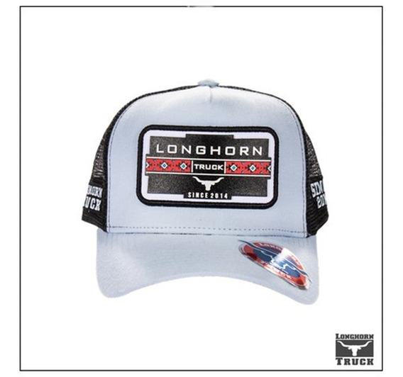 Boné Lht 107 Longhorn Azul Claro Tela Touro Country 2020
