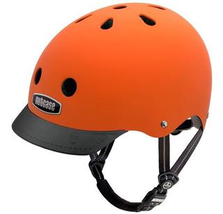Capacete Nutcase Regulagem 56 - 60 Dutch Orange Matt Nut8025