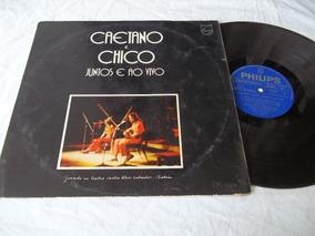 Lp Vinil - Caetano E Chico - Juntos E Ao Vivo